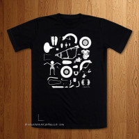 Knolling 1948 FL  -  Black T-Shirt