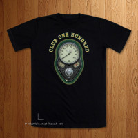 Club 100 - 1936 Sherwood Green Black T-Shirt