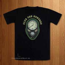 Club 100 - 1936 Sherwood Green Black T-Shirt