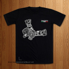 Ducati Bevel Drive Engine Moving Parts Toonz Style