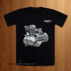 Ducati Square Case Bevel Drive Engine