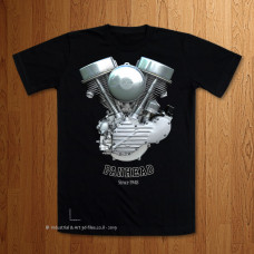 1948 - 49 Panhead Engine T-Shirt