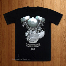 1953 Panhead Engine T-Shirt