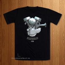 1954 Panhead Engine T-Shirt