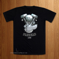 1958 - 62 Panhead Engine T-Shirt