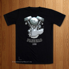 1958 - 62 Panhead Engine T-Shirt