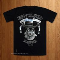 Shovelhead Forever 1200cc Black T-Shirt