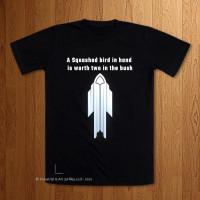 Squashed Bird  T-Shirt