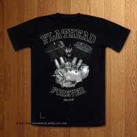 Early UL Big Flathead  Black T-Shirt