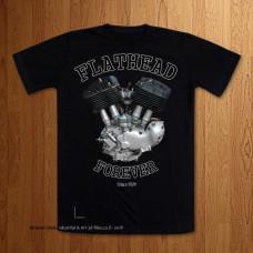 Early UL Big Flathead  Black T-Shirt