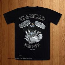 Late Big Flathead U Model - Lean out - Black T-Shirt